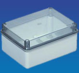 IP56 Enclosure Clear Lid 190 x 140 x 70mm