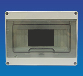 IP65 Enclosure  8 Mod + Door